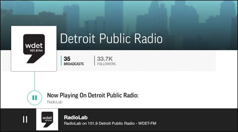 WDET Detroit – National Public Radio